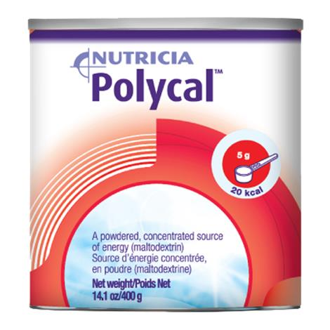 Nutricia Polycal Concentrated Carbohydrate Supplement Powder