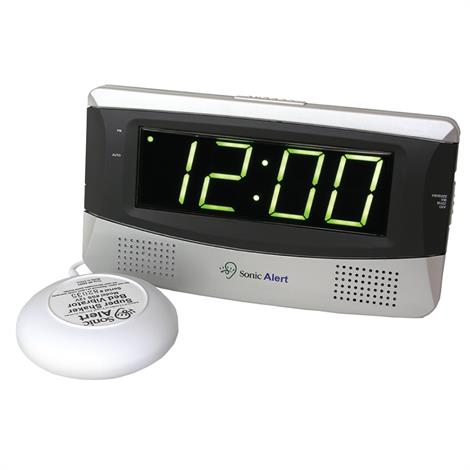 Sonic Boom Alarm Clock with Super Shaker