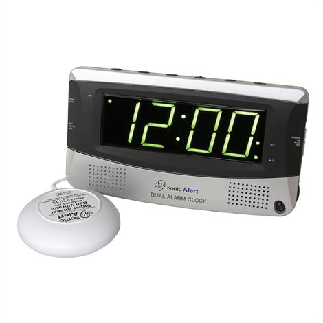 Sonic Boom Dual Alarm Clock with Super Shaker