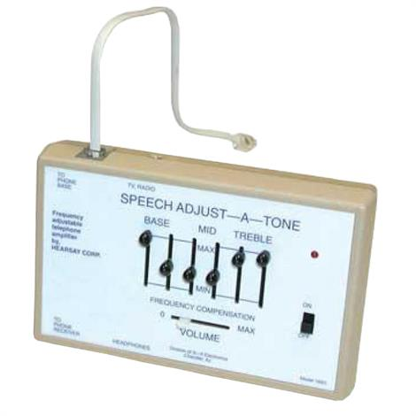 Harris Communications Speech Adjust A Tone Amplifier