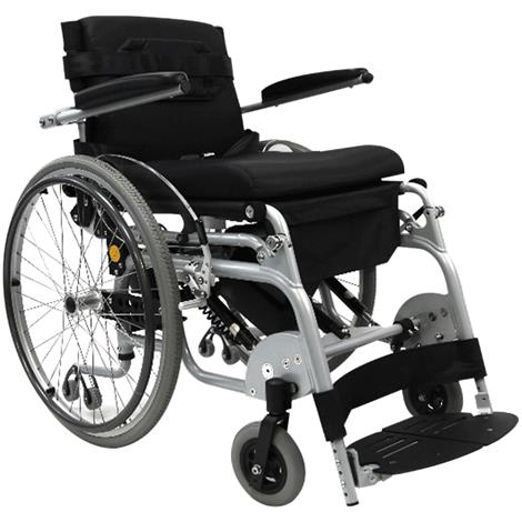 Karman Healthcare Manual Push Power Assist Stand Wheelchair