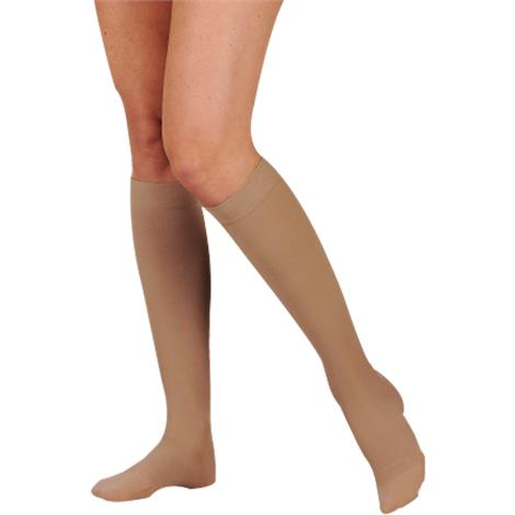 Juzo Dynamic Max Knee High 20-30mmhg Firm Compression Stockings With 5cm Silicone Border