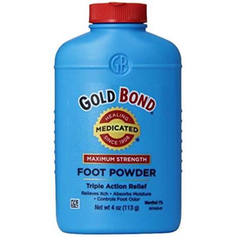 Buy Chattem GOLD BOND Medicated Maximum Strength Foot Care Powder