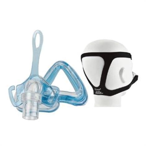 Roscoe Medical Sleepnet Ascend Full Face Mask System With EZ-Fit Headgear