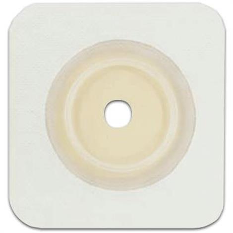 Genairex Securi-T Two-Piece Flat Standard Cut-to-Fit Tan Skin Barrier Wafer