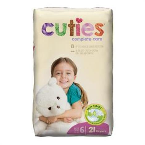 First Quality Cuties Complete Care Baby Diaper