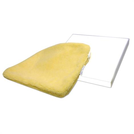 Skil-Care Solid Foam Cushion With Sheepskin Cover