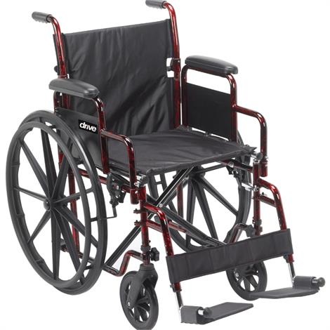 Drive Rebel Lightweight Folding Transportable Wheelchair