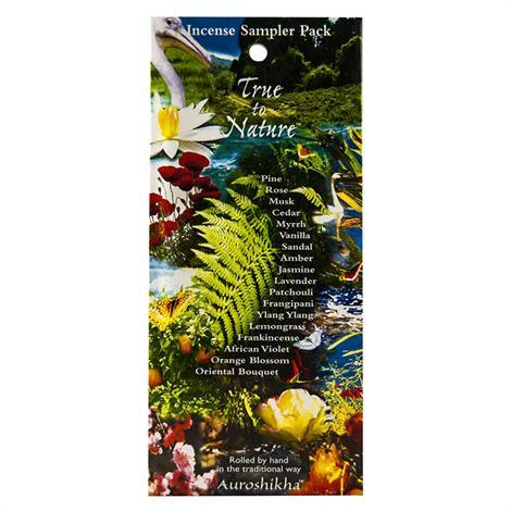 Auroshikha Incense Fragrance Sampler