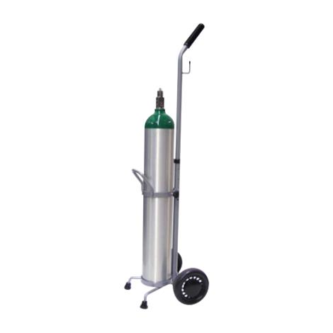 Responsive Respiratory Single D And E Cylinder Cart