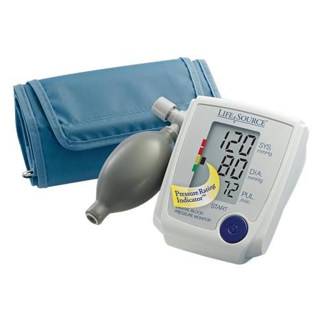 A&D Medical Advanced Manual Inflate Blood Pressure Monitor