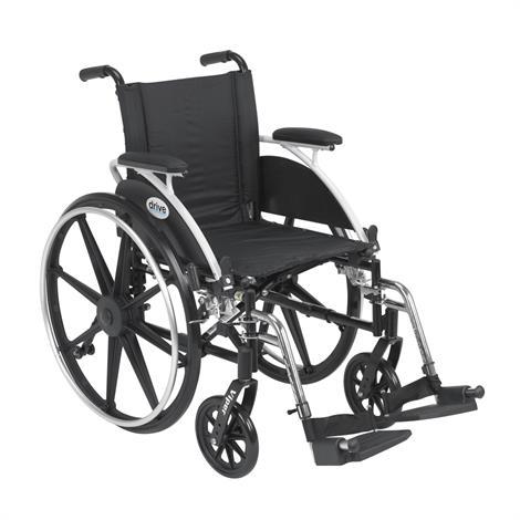 Drive Viper Deluxe High Strength Lightweight Dual Axle Wheelchair