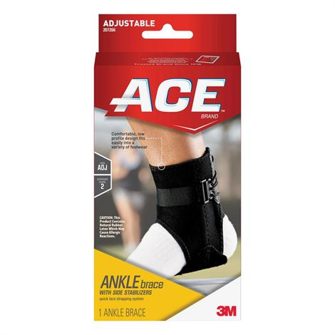 Buy 3M Ace Ankle Brace With Side Stabilizers