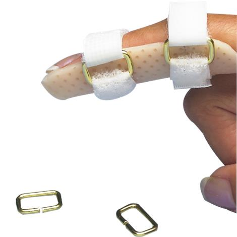 North Coast Medical Thin-Gauge Metal Small D-rings For Splints