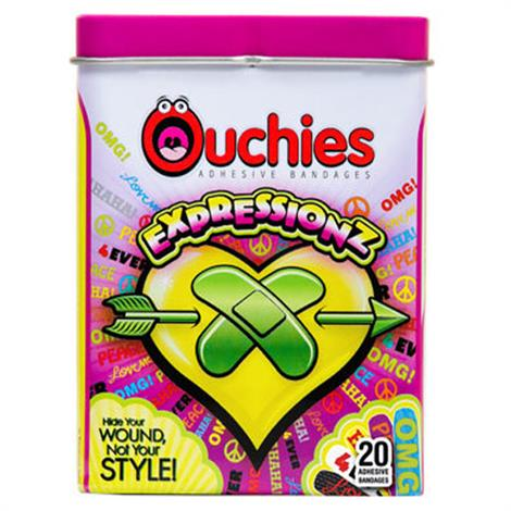 Cosrich Ouchies Expressionz Adhesive Bandages