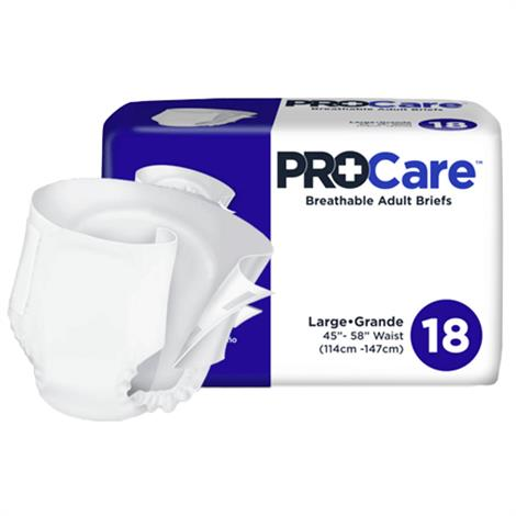 ProCare Breathable Adult Briefs