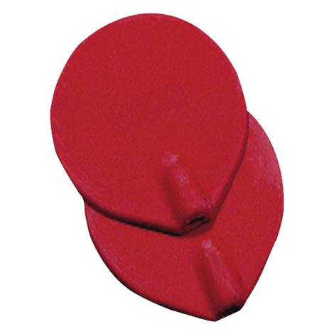 Dynatronics Red Carbon Round Electrodes