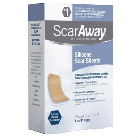 Buy Perrigo ScarAway Silicone Scar Sheets