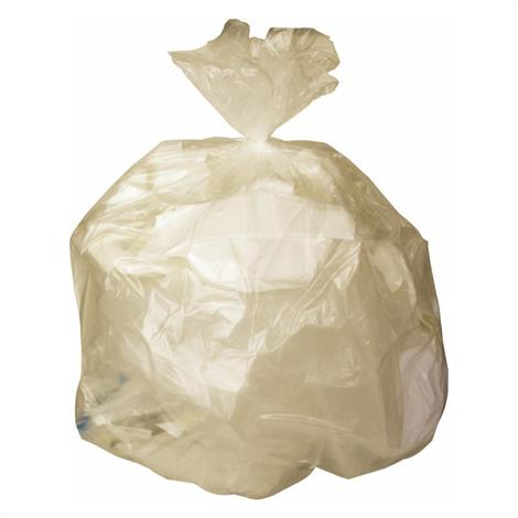 Medline Low Density Clear Trash Liners