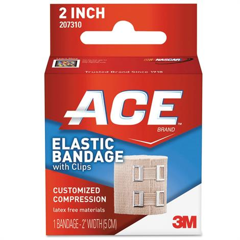 Buy 3M ACE Elastic Bandage With Metal Clips