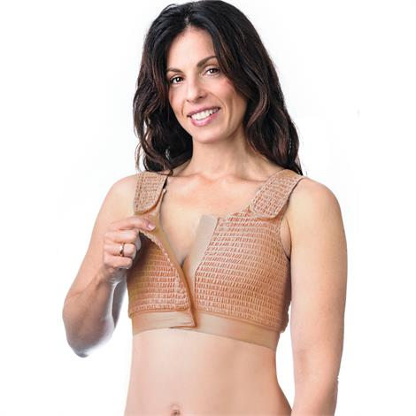 Expand-A-Band Beige Compression Bra