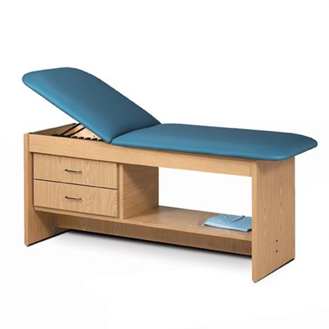 Clinton ETA Style Line Treatment Table with Drawers