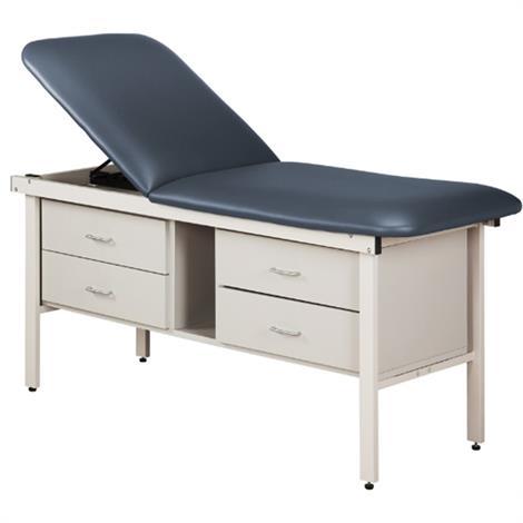 Clinton ETA Alpha Series Treatment Table with 4 Drawers