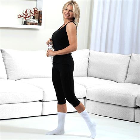 Venosan Diabetic Care Closed Toe 8 - 15mmHg Compression Crew Diabetic Socks