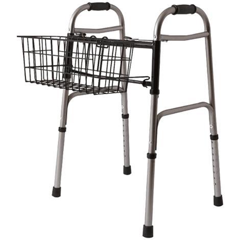 Medline Walker Basket For Two Button Walkers
