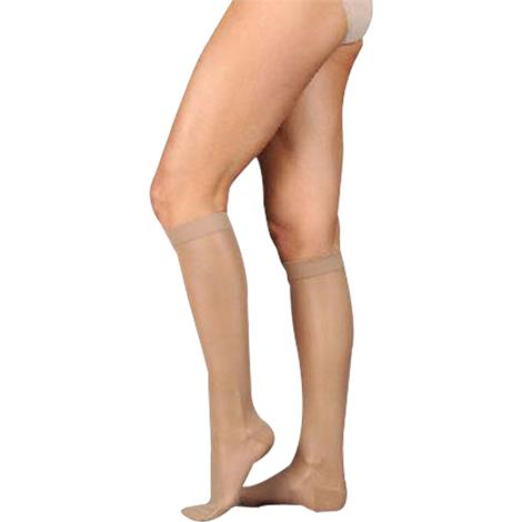 Juzo Naturally Sheer Knee High 15-20 mmHg Compression Stockings