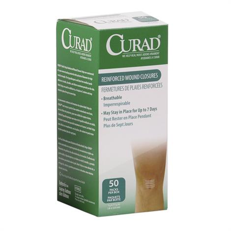 Buy Medline Curad Medi-Strips Reinforced Wound Closure Strips