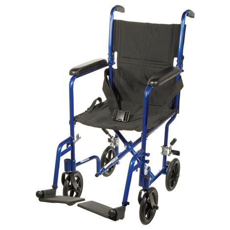 Drive Aluminum Transport Chair With Swing-Away Footrests