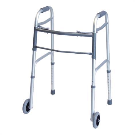 Graham Field Lumex Everyday  Dual Release Adult Walker With Wheels