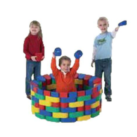 Childrens Factory Snap Plastic Bloc