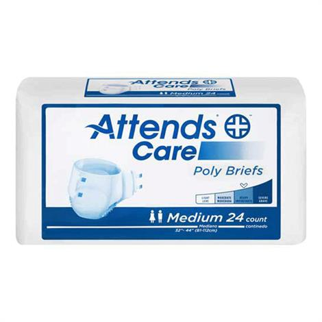 Attends Care Poly Briefs - Heavy Absorbency