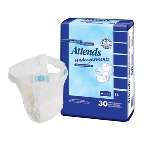 Attends Belted Undergarments - Moderate Absorbency