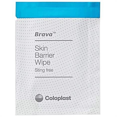 Coloplast Brava Ostomy Care Skin Barrier Wipes