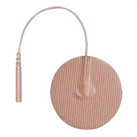 Buy Pepin Advantrode Prewired Reusable Silver Coated Film Tan Tricot Electrodes