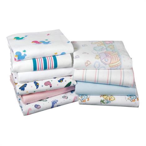 Medline Kuddle Up Flannel Baby Blankets