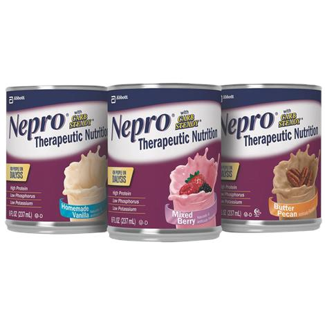 Abbott Nepro with Carb Steady Therapeutic Nutrition for People on Dialysis