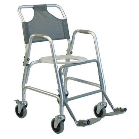 Graham-Field Deluxe Shower Transport Chair with Footrests