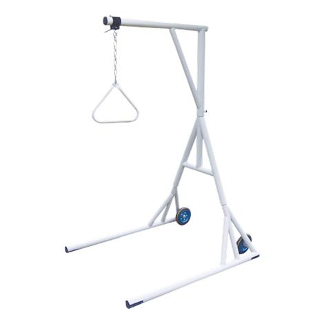Drive Bariatric Free Standing Trapeze with Base and Wheels