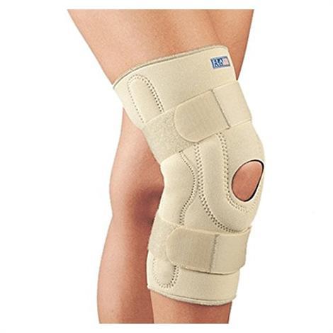 FLA Orthopedics Neoprene Stabilizing Knee Brace with Composite Hinges