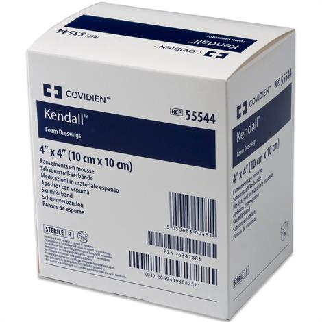 Medtronic Covidien Kendall Foam Wound Dressing With Topsheet