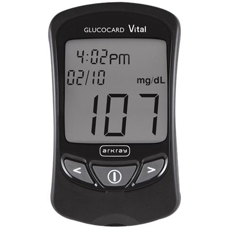Arkary USA GlucoCard Vital Blood Glucose Meter Kit