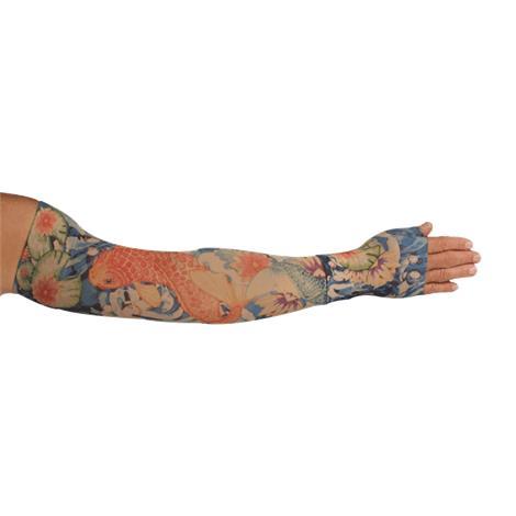 LympheDudes Koi Compression Arm Sleeve And Gauntlet