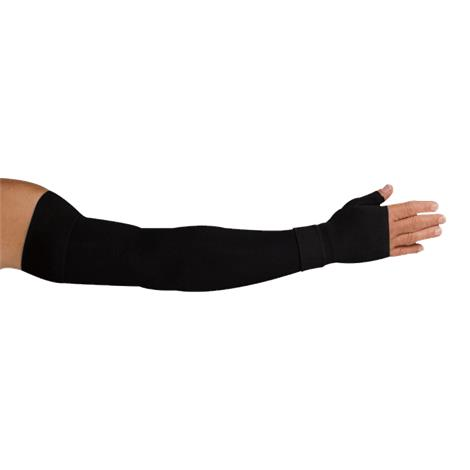 LympheDudes Onyx Compression Arm Sleeve And Gauntlet