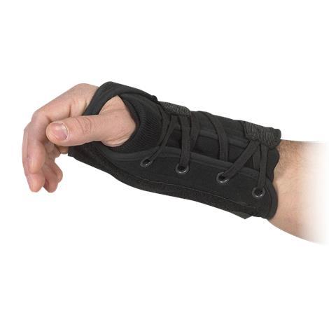 Bilt-Rite Lace-Up Black Wrist Support