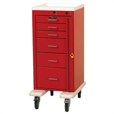 Harloff Six Drawer Mini Line Emergency Cart