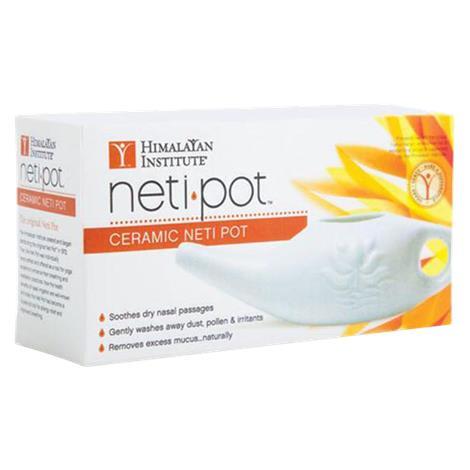 Buy Himalayan Institute Ceramic Neti Pot